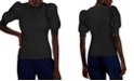 INC International Concepts INC Puff-Sleeve Ribbed Sweater, Created for Macy's