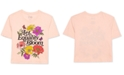 Hybrid Juniors' Cotton Let Equality Bloom-Graphic T-Shirt