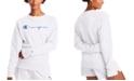 Champion Women's Powerblend Fleece Logo Sweatshirt