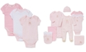 Little Me Baby Girls Sweet Bear Bodysuits 3-Pack