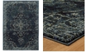 Macy's Fine Rug Gallery Journey Charlemagne Blue Area Rugs
