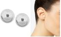 Anne Klein Polished Imitation Pearl Stud Earrings