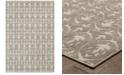 """JHB Design CLOSEOUT!  Soleil Tree Grey 5'3"""" x 7'6"""" Indoor/Outdoor Area Rug"""