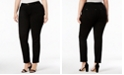 INC International Concepts INC Plus Size Skinny Ponte Pants, Created for Macy's