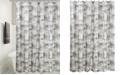 "Interdesign Cityscapes Paris Graphic-Print 72"" x 72"" Shower Curtain"