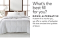 Hotel Collection  CLOSEOUT! Luxury Supima Cotton Down Alternative Full/Queen Comforter, Created for Macy's