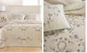 Martha Stewart Collection CLOSEOUT! Westminster Vines Cotton Twin Bedspread, Created for Macy's