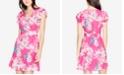 RACHEL Rachel Roy Floral-Print Fit & Flare Dress, Created for Macy's