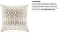 """Harbor House Anslee 18"""" x 18"""" Embroidered Square Decorative Pillow"""