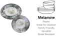 Certified International Radiance Cream Melamine 2-Pc. Platter Set