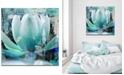 Ready2HangArt 'Painted Petals XXIV' Canvas Art Print