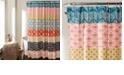 "Lush Decor Bohemian Stripe 72"" x 72"" Shower Curtain"