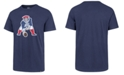'47 Brand Men's New England Patriots Knockout Fieldhouse T-Shirt