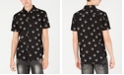 INC International Concepts INC Men's Sketched Skull Shirt, Created for Macy's
