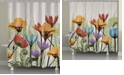 Laural Home Botanicals Shower Curtain
