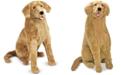 Melissa and Doug Melissa & Doug Plush Lifelike Giant Golden Retriever Dog