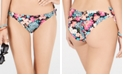 SUNDAZED Printed Lilly Side-Tie Bikini Bottom