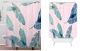 Deny Designs Iveta Abolina Peaches N Cream P Shower Curtain