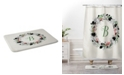 Deny Designs Iveta Abolina Silver Dove Christmas B Bath Mat