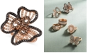 Le Vian Nude™, Blackberry™ & Chocolate™ Diamond Flower Ring (1-1/2 ct. t.w.) in 14k Rose Gold