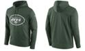 Nike Men's New York Jets Performance Circuit Logo Essential Hoodie