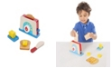 Melissa and Doug Melissa & Doug Bread and Butter Toaster Set (9 pcs) - Wooden Play Food and Kitchen Accessories