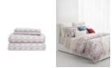 Lauren Ralph Lauren Lucie Ikat Stripe King Sheet Set