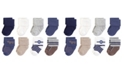 Hudson Baby Terry Cotton Socks, 8-Pack, 0-12 Months