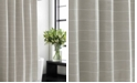 Vera Wang Slub Stripe Shower Curtain