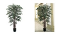 Nearly Natural 4' Ruscus Faux Silk Tree
