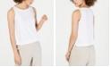 Eileen Fisher Ballet-Neck Tank Tencel ™ Top, Regular & Petite