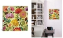 "iCanvas ""Nasturtiums"" By Kim Parker Gallery-Wrapped Canvas Print - 18"" x 18"" x 0.75"""