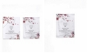 Snow Fox Skin Care Japanese Cherry Blossom and White Tea Smoothing Mask, 5 Masks