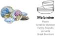 Certified International Hydrangea Garden Melamine 12-Pc. Dinnerware Set