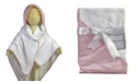 Baby Mode Signature 3 Stories Trading Striped Hooded Baby Bath Towel