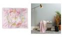 Deny Designs Hello Sayang Lola Llama Pink Woven Throw
