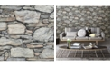 "Brewster Home Fashions Stone Wall Wallpaper - 396"" x 20.5"" x 0.025"""