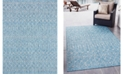 Bridgeport Home Pashio Pas7 Light Aqua 9' x 12' Area Rug