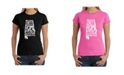 LA Pop Art Women's Word Art T-Shirt - Sweet Home Alabama