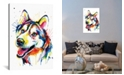 """iCanvas Husky by Weekday Best Gallery-Wrapped Canvas Print - 26"""" x 18"""" x 0.75"""""""