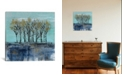 """iCanvas Trees at Dawn I by Silvia Vassileva Gallery-Wrapped Canvas Print - 26"""" x 26"""" x 0.75"""""""