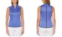 PGA TOUR Colorblocked Sleeveless Golf Polo Shirt