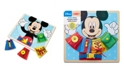 Melissa and Doug Mickey Mouse Wooden Basic Skills Board