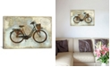 """iCanvas Bike Italy by Amanda Wade Wrapped Canvas Print - 18"""" x 26"""""""