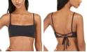 Roxy Juniors'  Solid Beach Classics Bralette Bikini Top