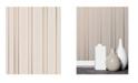 """Advantage 20.5"""" x 369"""" Thierry Rose Stripe Wallpaper"""