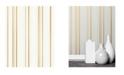"""Advantage 20.5"""" x 369"""" Thierry Stripe Wallpaper"""