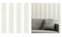 """A-Street Prints A-Street 20.5"""" x 396"""" Prints Visby Stripe Wallpaper"""