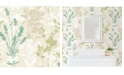 "Advantage 20.5"" x 369"" Pippin Wild Flowers Wallpaper"