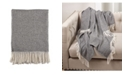 Saro Lifestyle Herringbone Throw